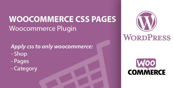 Woocommerce Custom CSS Pages, Products, Accounts & Categories - CodeCanyon Item for Sale