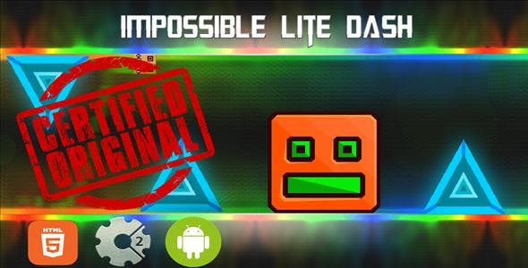 Impossible Lite Dash - HTML5 Mobile Game (Capx)