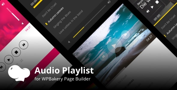 Audio Playlist Addons for WPBakery Page Builder (Visual Composer) - CodeCanyon Item for Sale
