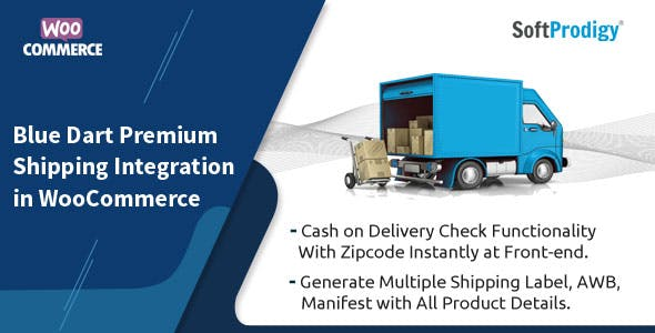 Blue Dart Premium Shipping Integration in WooCommerce