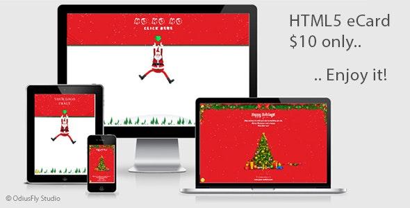 Christmas Card Santa Claus v2 - CodeCanyon Item for Sale