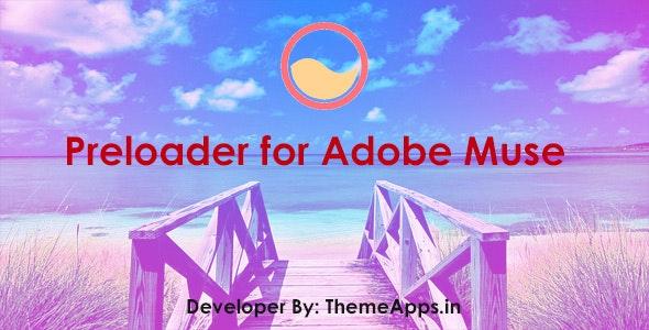Preloader for Adobe Muse - CodeCanyon Item for Sale