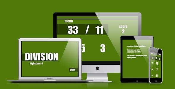 Math Game: Division