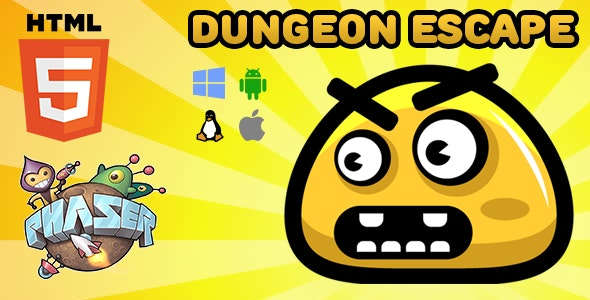 Dungeon Escape - HTML5 Game - Phaser - CodeCanyon Item for Sale