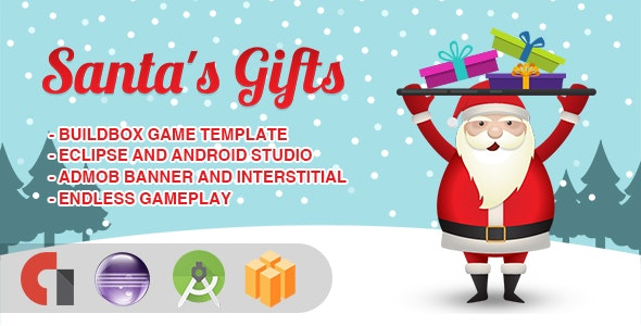 Santa's Gifts - Android Studio + Eclipse + Buildbox Template - CodeCanyon Item for Sale