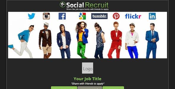 Social Sharer - Linkedin Recruit