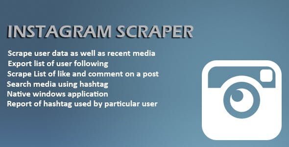 Instagram Scrapper