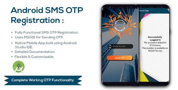 Android SMS OTP Verfication