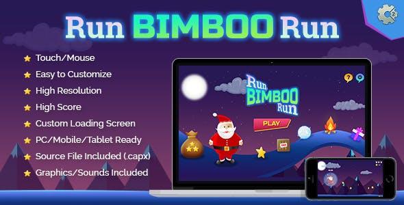 Run Bimboo Run - HTML5 Holiday Fun Game