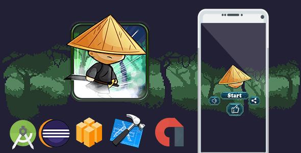 Ninja Boom+ Admob + Buildbox (BBDOC+Android Studio+Eclipse+Xcode) - CodeCanyon Item for Sale