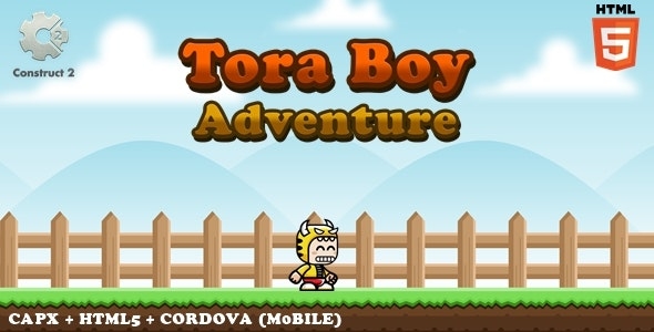 Tora Boy Adventure - CodeCanyon Item for Sale
