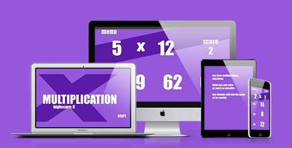 Math Game: Multiplication