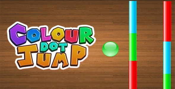 Colour Dot Jump - Endless And Easy Reskin Game