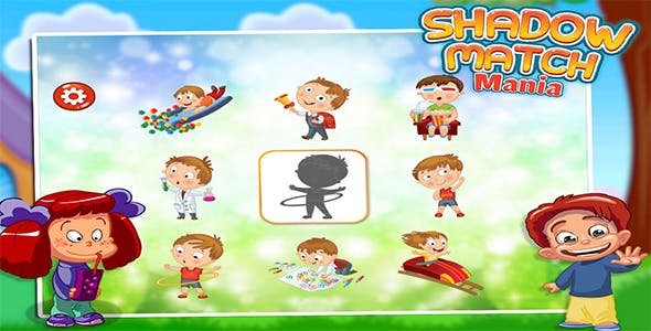 Shadow Match Puzzle - Game For Kids