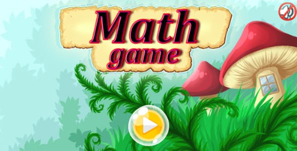 Math Game- HTML5 Educational game (CAPX. included)