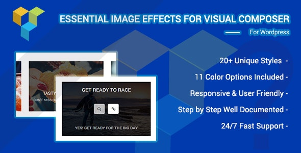 Essential Image Effects For Visual Composer Wordpress Plugin - CodeCanyon Item for Sale
