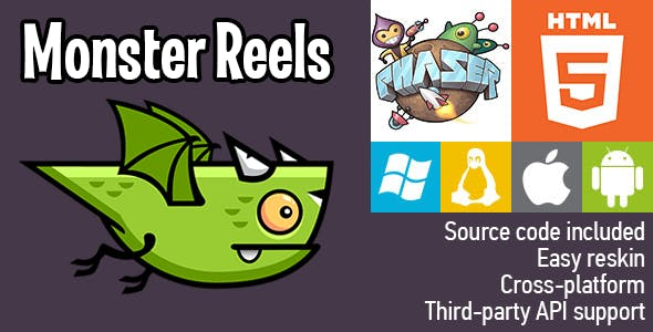Monster Reels - HTML5 Game - Phaser