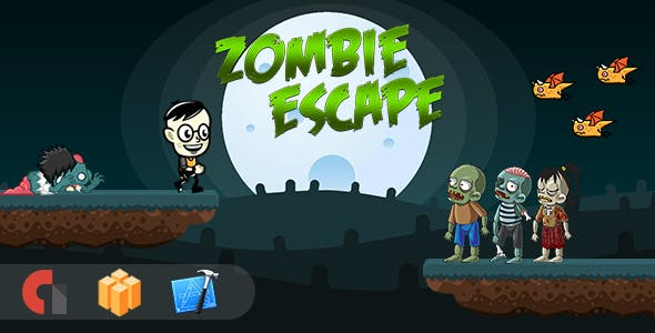 Zombie Escape - IOS XCODE Source + Buildbox Template