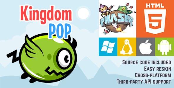 Kingdom Pop - HTML5 Game - Phaser