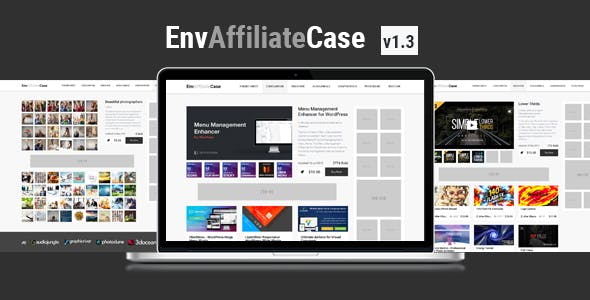 EnvAffiliateCase | Envato Market Affiliate and Item Showcase Plugin
