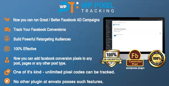 Wordpress Retargeting Facebook Pixel Tracking Plugin