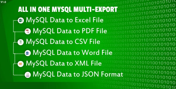 All in One MYSQL Multi-Export
