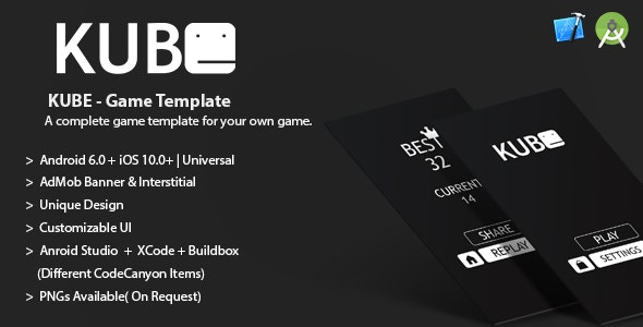 Kube Buildbox Project .bbdoc + AdMob Banner + Interstitial + IAP - CodeCanyon Item for Sale