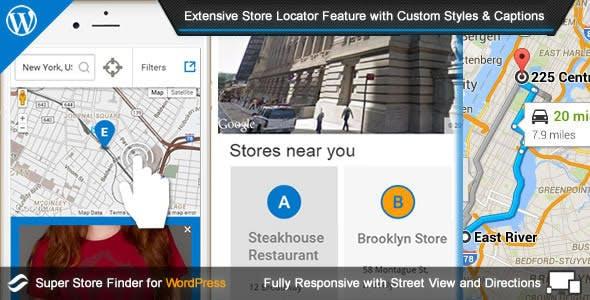 Super Store Finder for WordPress        Nulled