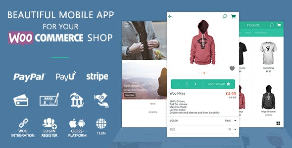 WooCommerce Ionic Mobile App & REST API