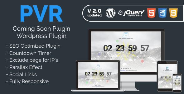 PVR - Coming Soon Plugin
