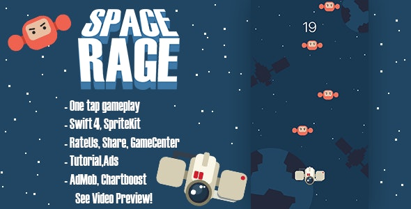 Space Rage - CodeCanyon Item for Sale