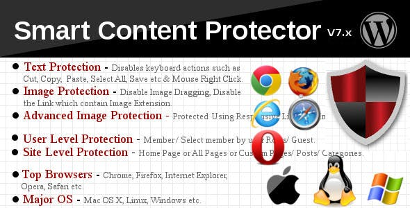 Smart Content Protector - Pro WP Copy Protection