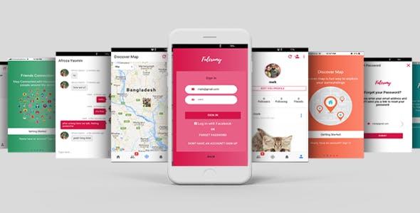 Complete Functional  Social App Based on Firebase & Ionic framework