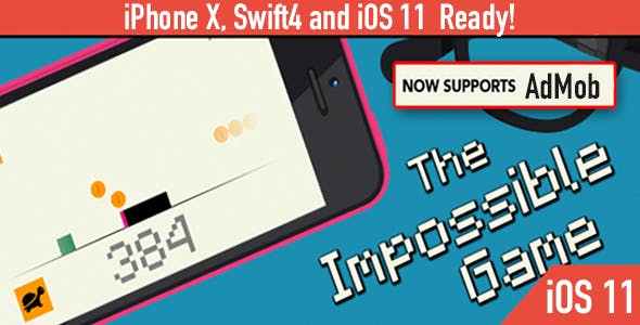 The Impossible Game – Deluxe Edition - iOS 11 and Swift 4 ready