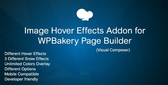 Image Hover Effects Addon for WPBakery Page Builder ( Visual Composer )
