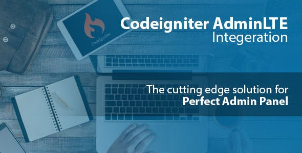 Codeigniter with AdminLTE  Integration + Login Authentication + User CRUD