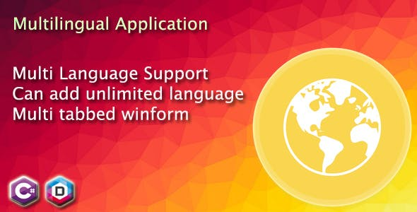 Multi-language application in C# - Multilingual winform