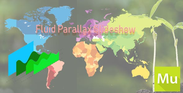 Fluid Parallax Slideshow for Adobe Muse