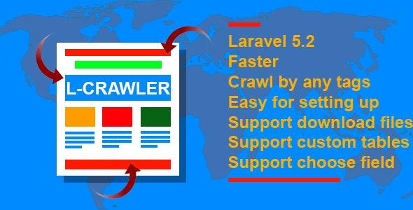 LARAVEL MASTER CRAWLER - CodeCanyon Item for Sale