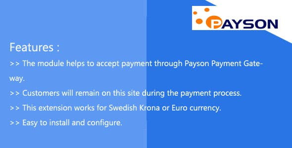 Payson Payment Integration Magneto 2