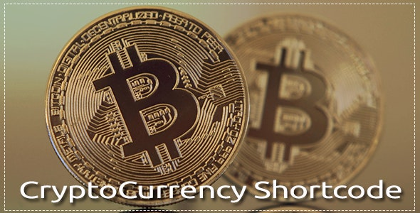 Cryptocurrency Shortcodes for WordPress - CodeCanyon Item for Sale