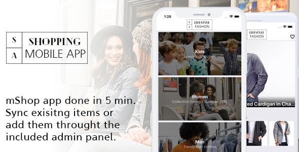 Full Mobile  Shop app - React Native - CodeCanyon Item for Sale