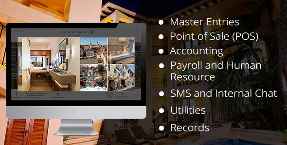 Hotel Management Software Offline With Restaurant POS SYSTEM