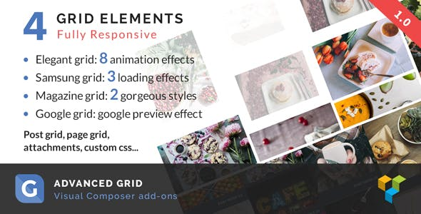 Advanced Grid | WPBakery Page Builder add-on