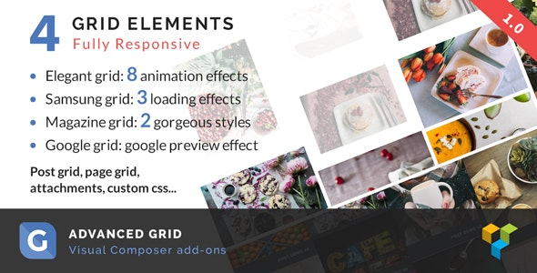 Advanced Grid | WPBakery Page Builder add-on - CodeCanyon Item for Sale