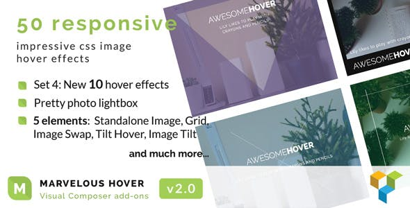 Marvelous Hover Effects | WPBakery Page Builder Add-ons