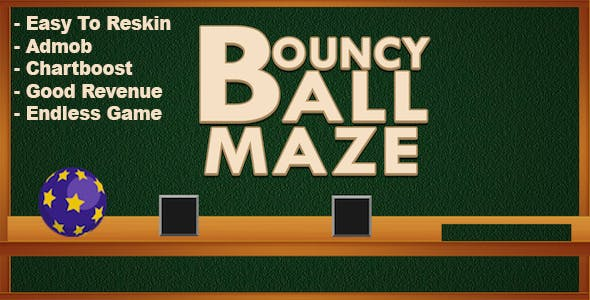 Bouncy Ball Maze - Endless Game
