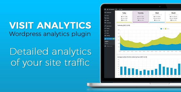 Analytics wordpress plugin - Visit Analytics