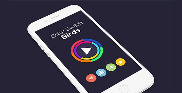 COLOR SWITCH BIRDS WITH ADMOB - ANDROID STUDIO & ECLIPSE FILE - CodeCanyon Item for Sale