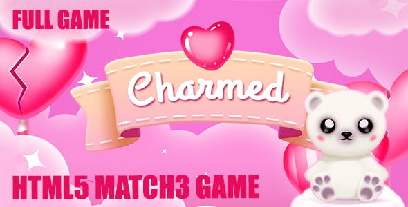 Charmed: Match 3 Valentine Game